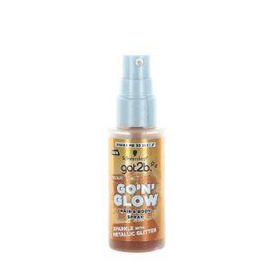 Got2B Spray cu sclipici pentru par si corp 50 ml Bronze