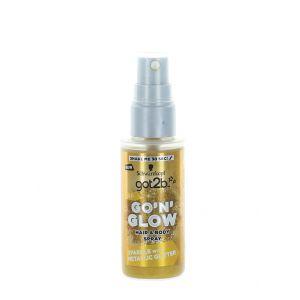 Got2B Spray cu sclipici pentru par si corp 50 ml Gold