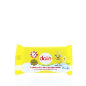 Dalin Servetele umede 15 buc Antibacterian