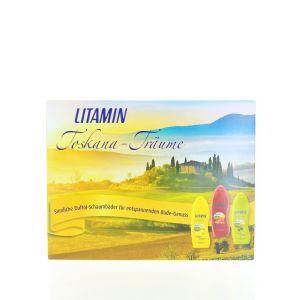 Litamin Caseta 3XSpuma de baie 3X250 ml Toskana-Traume