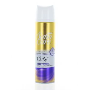 Gillette Gel de ras pentru femei 200 ml Satin Care Olay Violet Swirl
