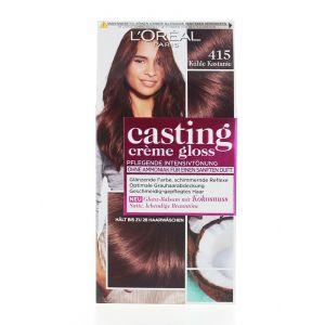 L'oreal Vopsea de par Casting Creme Gloss 415 Kuhle Kastanie(Cool Chestnut)