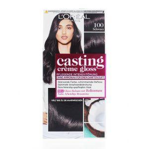 L'oreal Vopsea de par Casting Creme Gloss 100 Schwarz