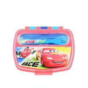 Disney Cutie Sandwich cu tacamuri 1 buc Cars