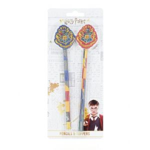 Harry Potter Set 2 creioane grafit cu topper