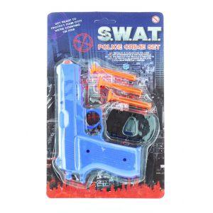Jucarie Set pistol cu ventuza Police