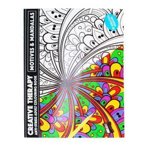 Carte de colorat pentru adulti 20 X A3 Motives & Mandalas