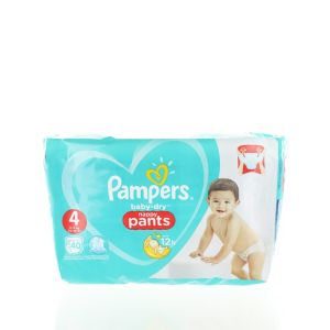 Pampers Scutece chilotel nr. 4 9-15 kg 40 buc Baby-Dry