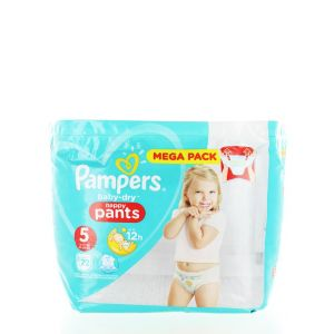 Pampers scutece chilotel nr. 5 Junior 12-17 kg 72 buc Baby-dry