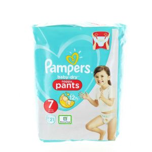 Pampers scutece chilotel nr. 7 Junior 17+ kg 21 buc Baby-Dry