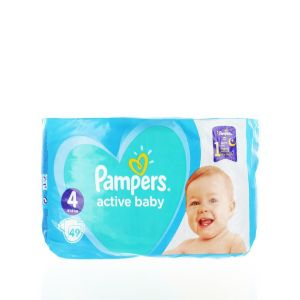 Pampers Scutece nr.4  9-14 kg 49 buc Active Baby