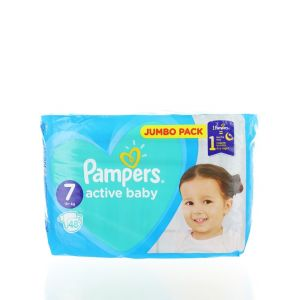 Pampers scutece nr.7  15+ kg 48 buc Active Baby