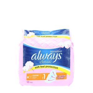 Always Absorbante 10 buc Classic Normal Sensitive S1