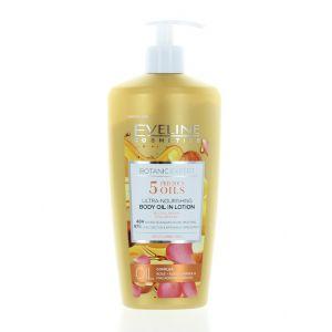 Eveline Lotiune de corp cu pompa 350 ml Botanic Expert 5 Precious Oils