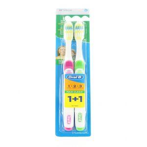 Oral-B Periuta de dinti 2 buc Maxi Clean 40 Medium