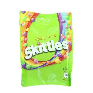 Skittles Bomboane gumate cu aroma de fructe 152 g Crazy Sours