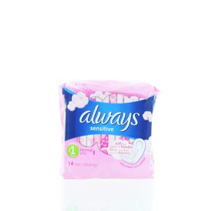 Always Absorbante 14 buc Sensitive Normal