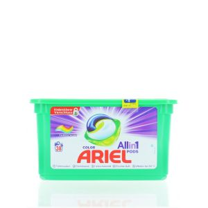 Ariel Detergent capsule 38 buc All in 1 Color