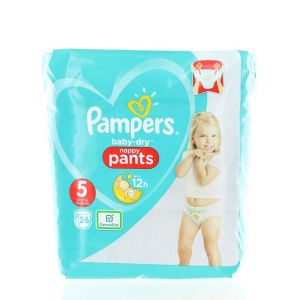 Pampers scutece chilotel nr. 5 12-17 kg 26 buc Baby-Dry