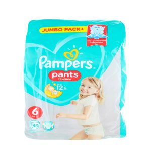 Pampers scutece chilotel nr. 6 15+ kg 45 buc Jumbo Pack