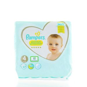 Pampers scutece nr. 4 9-14 kg 27 buc Premium Protection