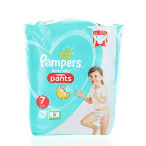 Pampers scutece chilotel nr. 7 Extra Large 17+ kg 25 buc Baby-Dry