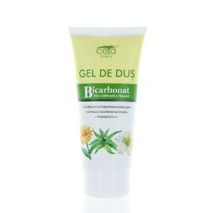 Ceta Gel De Dus Cu Bicarbonat 200 ml Aloe,Galbenele,Musetel (in tub)