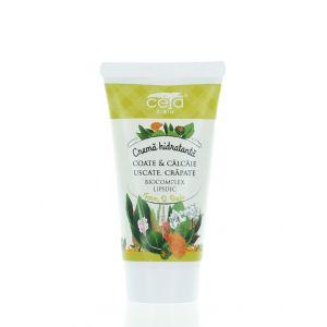 Ceta Crema Hidratanta Pentru Coate & Calcaie 50 ml Uscate, Crapate (in tub)