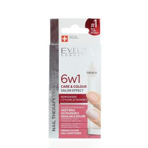 Eveline Tratament Unghii 12 ml French 6 in1