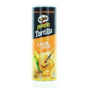 Pringles Chips 160 g Tortilla El Nacho Cheese (exp. 29.09.2020)