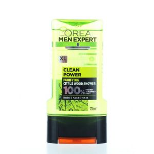 L'oreal Men Expert Gel de dus barbati 300 ml Clean Power