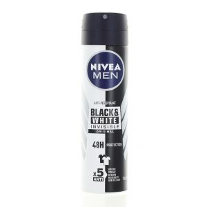 Nivea Spray deodorant barbati 150 ml Black&White Original