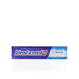 Blend-a-med Pasta de dinti 125 ml 3D White Delicate White