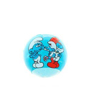 Smurfs Bila efervescenta pentru baie 120 g Blue