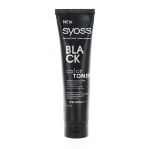Syoss Color Toner Colorant par 150 ml Black