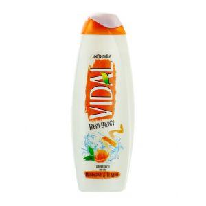 Vidal Gel de dus 500 ml Mandarino&Te Verde
