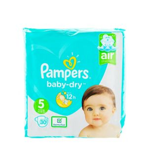 Pampers Scutece nr.5  11-16 kg 30 buc Baby-Dry