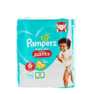 Pampers scutece chilotel nr. 6 15+ kg 23 buc Baby-dry