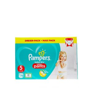 Pampers scutece chilotel nr. 5 12-17 kg 78 buc Baby-Dry