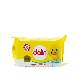 Dalin Servetele umede 64 buc Antibacterian