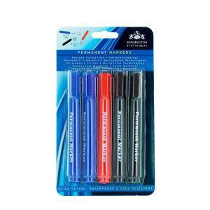 Set Markere 3 culori (5 buc) permanent