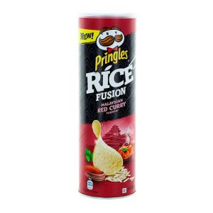 Pringles Chips 160 g Rice Fusion Malaysian Red Curry