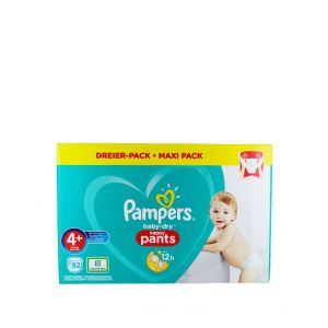 Pampers scutece chilotel nr.4+  9-15 kg 82 buc Baby-Dry