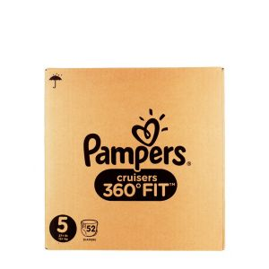Pampers Scutece chilotel nr. 5  12+ kg 52 buc Cruisers 360 Fit