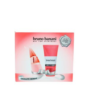 Bruno Banani Caseta femei:Parfum+Gel de dus 20+50ml Absolute Woman