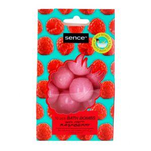 Sence Beauty Bombe de baie 10x10 g Raspberry