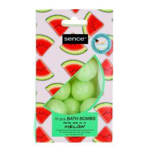 Sence Beauty Bombe de baie 10x10 g Melon