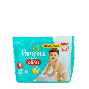 Pampers scutece chilotel nr.4  9-15 kg 82 buc Baby-Dry
