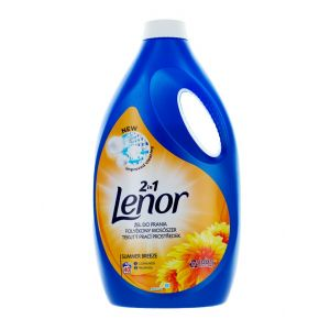 Lenor Detergent Lichid 2.2 L 40 spalari 2in1 Summer Breeze