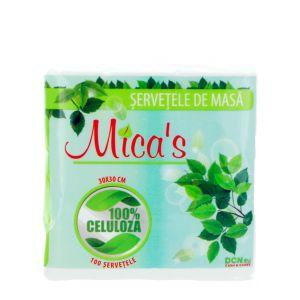 Mica's Servetele de masa 1 straturi 100 buc 30x30 cm